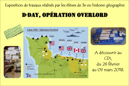 Exposition :  D-Day, opération Overlord