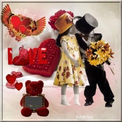 défi Lara0011' thème St-Valentin'