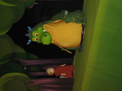 """Spectacle des Trois Chardons: """"Gigote et le dragon"""""""