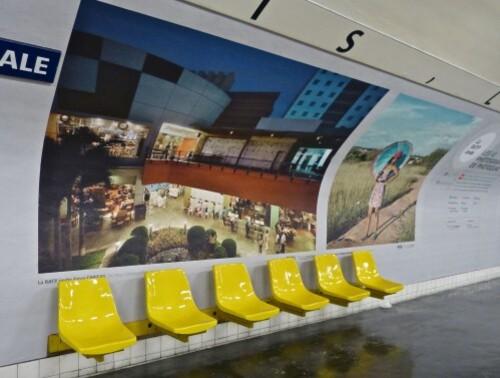 affiche Photoquai métro Assemblée Nationale 50937