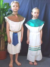 Egyptian costume:
