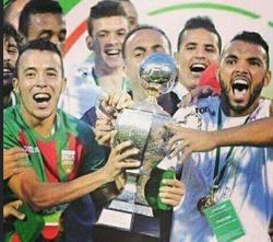 Supercoupe d'Algérie 2014  MCA-USM Alger 1-0