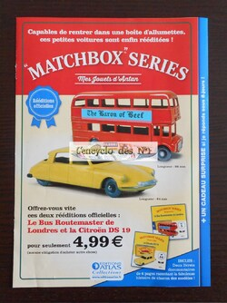 "Collection ""Matchbox series : mes jouets d'Antan"" - Test"