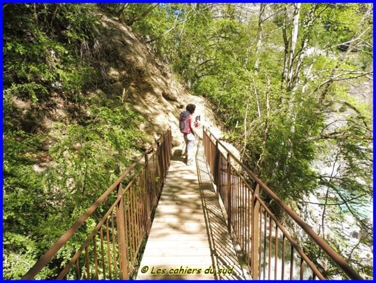 Gorges du Verdon, le sentier de l'Imbut