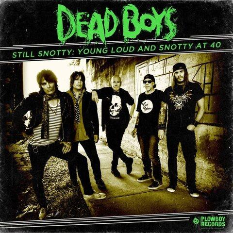DEAD BOYS - Les détails de l'album anniversaire