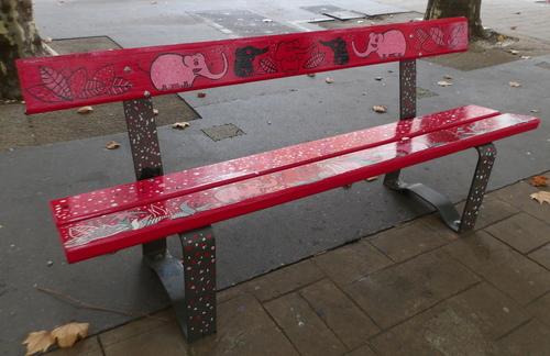 Revalorisation des bancs du boulevard de la Colonne