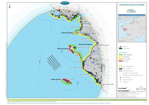 Enquête publique sur le projet de parc éolien en mer des îles d'Yeu et de Noirmoutier