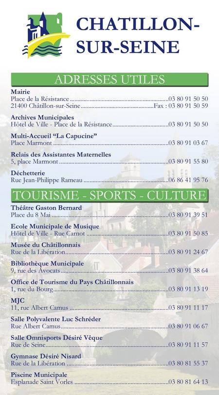 """""""Les bons plans"""" des Vitrines Châtillonnaises..."""
