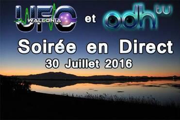 Le 30 Juillet 2016, c'est la 7ème soirée de l'ufologie Franco-Belge
