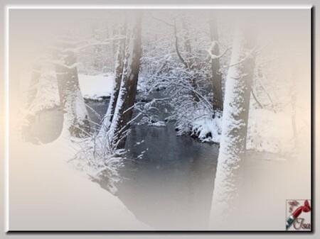 HI0012 - Tube paysage d'hiver
