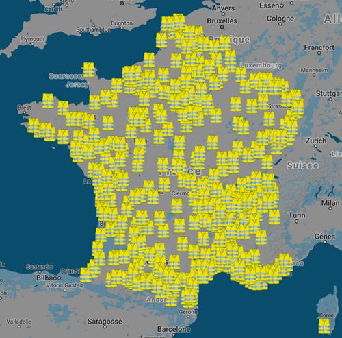 Acte VI des gilets jaunes, la mobilisation continue et la répression s'amplifie