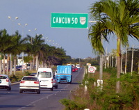 - Ha !!! Cancun...