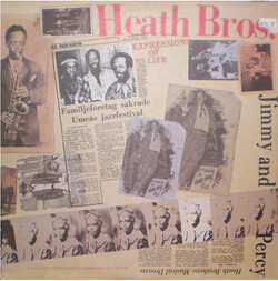 The Heath Brothers - Expressions Of Life - Complete LP