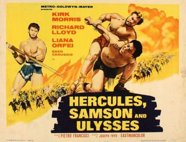 HERCULES SAMSON AND ULYSSES BOX OFFICE USA 1965