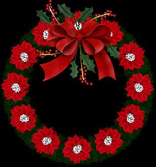 Tubes couronnes de Noël 1