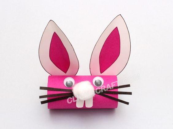 Un visage de lapin !: