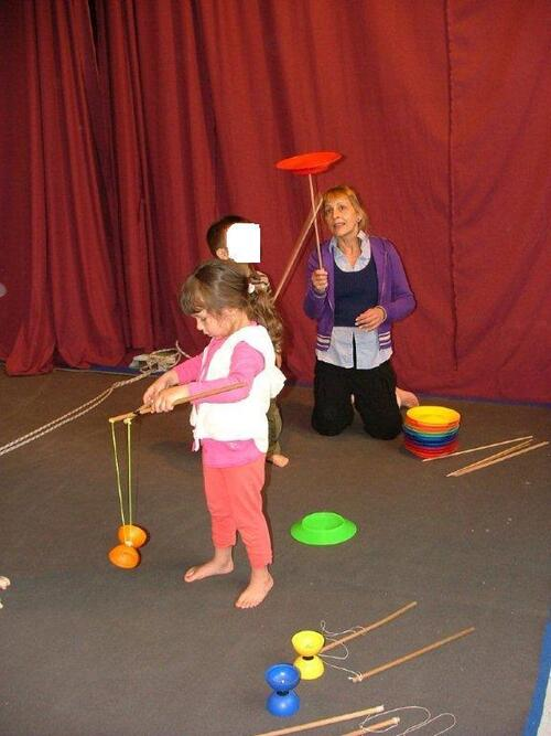 Flavie au cirque