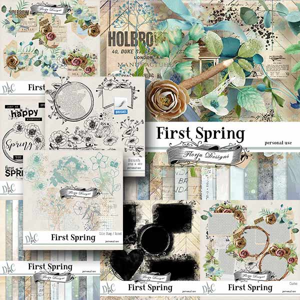 First Spring { Bundle PU } by Florju Designs