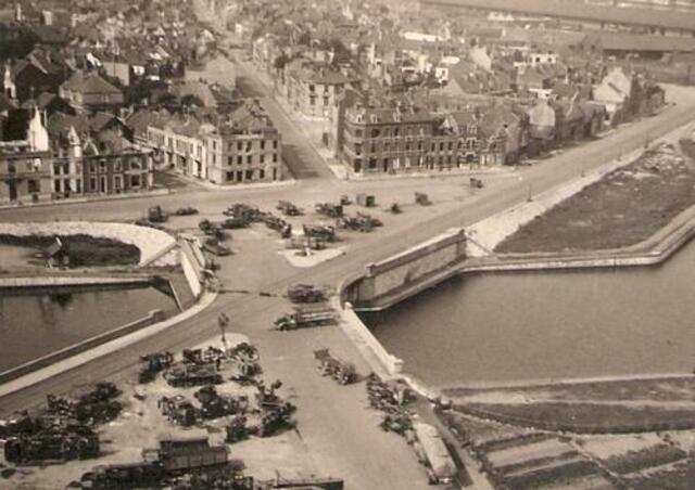 Photos du siège de Calais