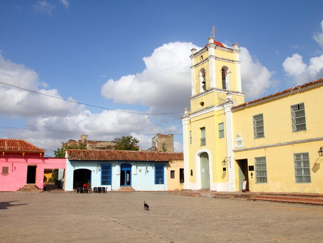 Camaguey : jaune et bleue