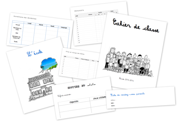 Cahier de classe - Informations importantes