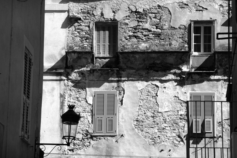 Balade en Corse en N&B #181106