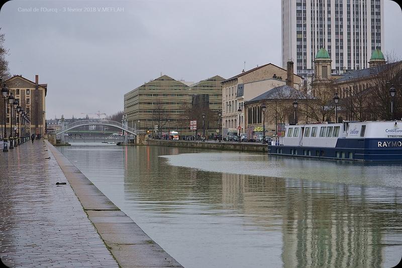Balade sur les bords du Canal de L'Ourcq - Paris 19ème