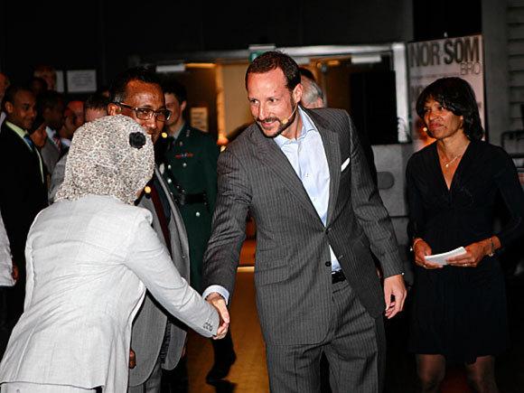 Haakon et les somaliens