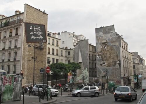 Ben se méfier des mot Le Gac street-art