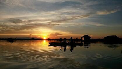 Lac Tonlé (Cambodge)