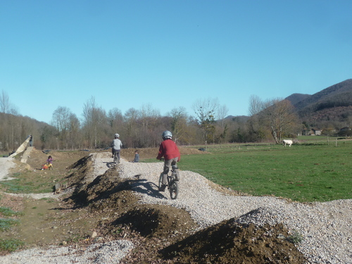 Piste BMX à Sauveterre-de-Comminges