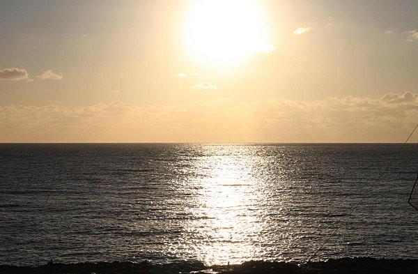 soleil couchant nuageux -3-