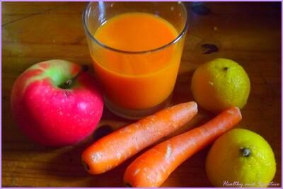 ↪ Merveilleux elixir... Bon ok, c'est un jus de carotte !