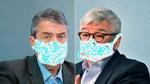 Zwei Weckmänner mit Leberwurst