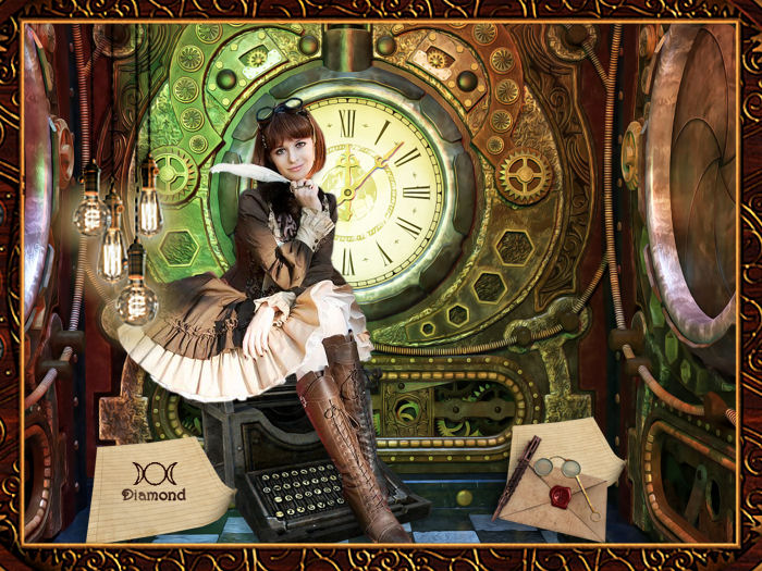 Défi steampunk chez Odysseygraph