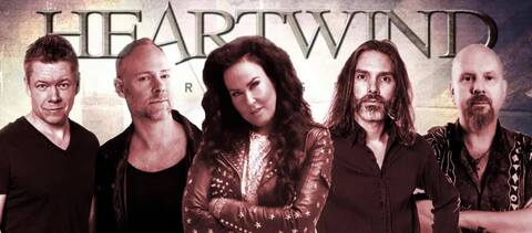"""HEARTWIND - """"Line Of Fire"""" Lyric Video"""