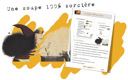 Lecture CE1: Une soupe 100 % sorcière