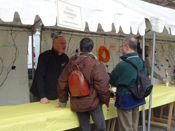 La Fête du Crémant 2015 à Châtillon sur Seine...