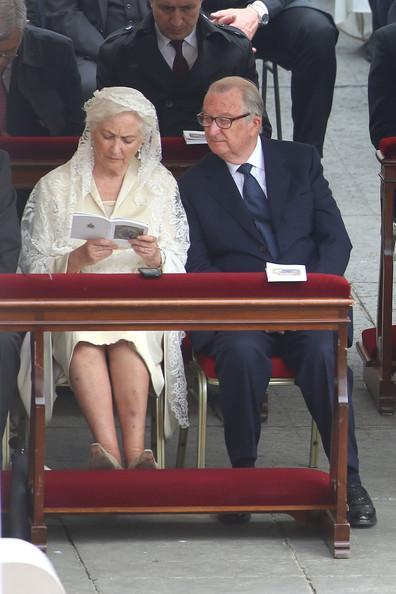 Albert et Paola à Rome