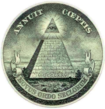 Illuminati-pyramide
