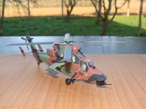 Maquette hélicoptère EC665 Tigre ALAT au 1/72