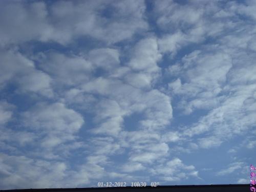 TEMPS DU JOUR  01/12/2012