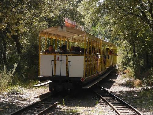 Le Petit train de Saint Trojan les bains...sur l'Ile d'Oleron.