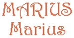 Dictons de la St Marius + grille prénom  !