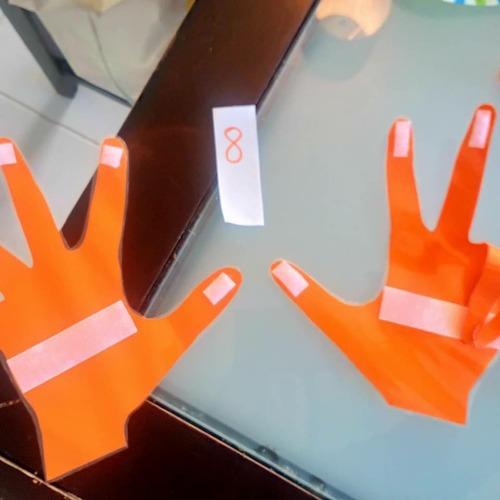 Atelier autonome : doigts avec scratch