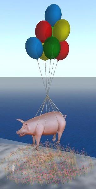 Cochon à Ballons