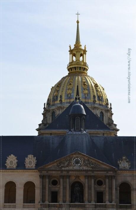 Les Invalides : Le dôme - Paris insolite