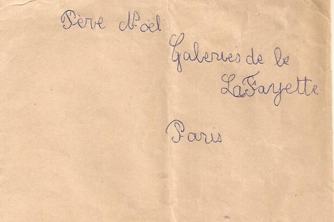 Lettres au Père Noël ... !!!