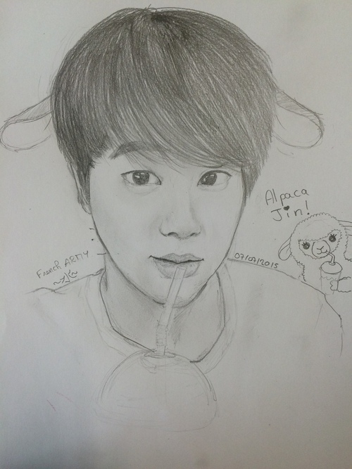 #1 Jin Alpaca (BTS)
