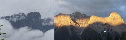 12 juin, parcs des rocheuses, canada